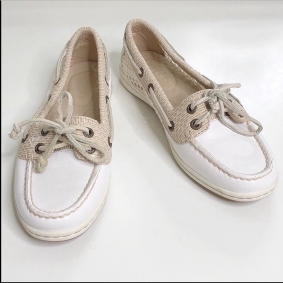 Sperry Angelfish Mesh Boat Shoes